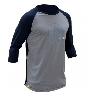 DIRTLEJ MountTee gris / marino