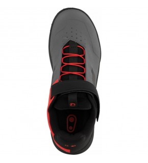 CRANKBROTHERS Zapatillas MTB Stamp Speed Lace gris / rojo